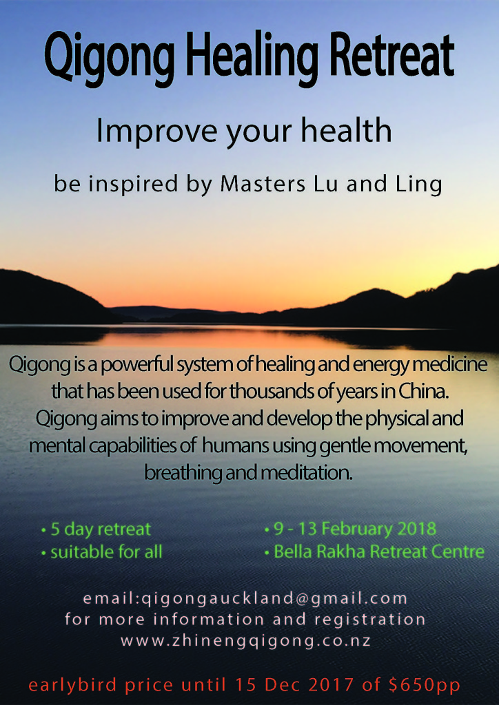 Qigong Retreat poster